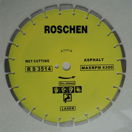 "14"" 350mm Longer Life Cutting Asphalt Diamond Cutting Tools Diamond Blades"