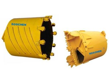 Warna Kuning Rock Drilling Core Barrel Rotary Auger 800-1200mm Panjang Shell
